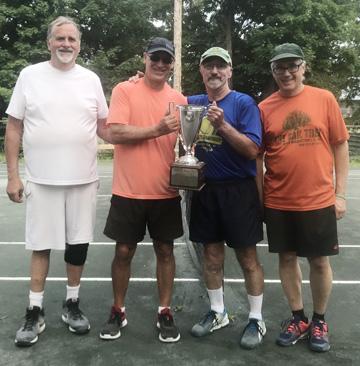 Filice & Missel win Genesee Volley Tennis Club Crown