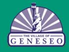 Monday's Geneseo Village Board Meeting Agenda