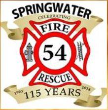 Springwater Fire Department Issues Warning