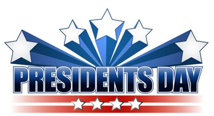 Monday, February 18, 2019 is President's Day