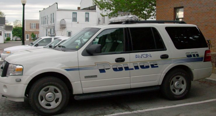 Avon Police Department's Activity Blotter