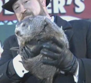 Today is Groundhog Day