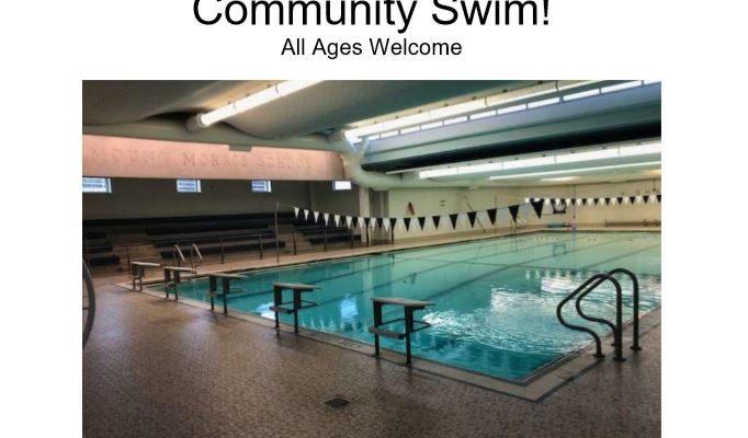 Mt. Morris School Offering Community Swim Times