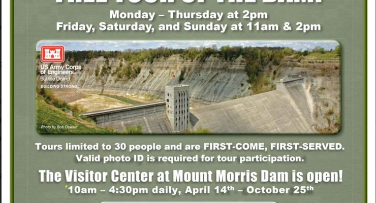 Mt. Morris Dam Open For The Season
