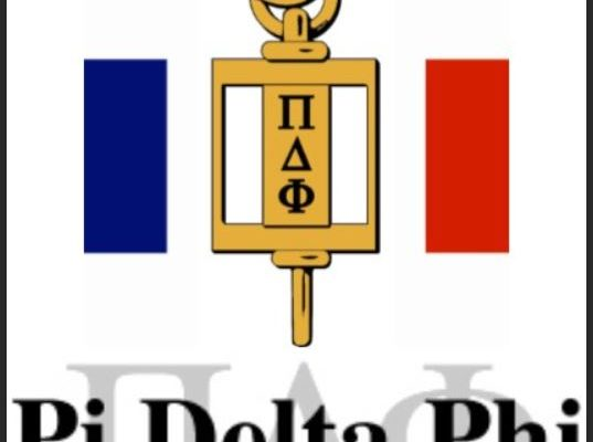 Caledonia Resident Inducted Into The Pi Delta Phi National French Honor Society
