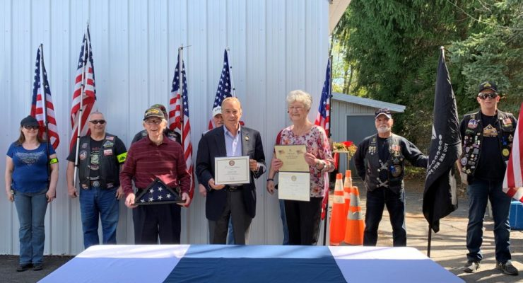 """Livonia Resident Named """"Veteran of the Month"""""""