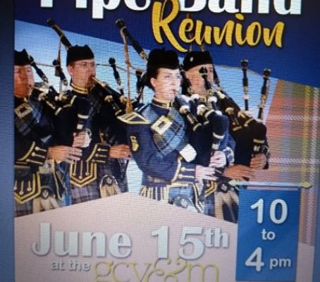 The TJ Connor Pipe Band Reunion