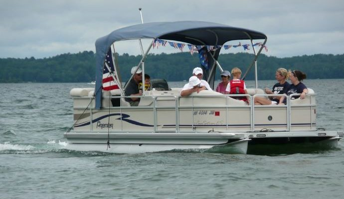 A Conesus Lake Tradition – Labor Day Weekend Boat Parade