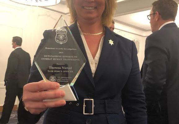 Erie County Detective Awarded With Human Trafficking Task Force Officer of the Year Award