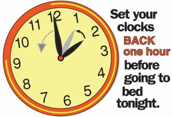Daylight Savings Time Ends Tomorrow Morning