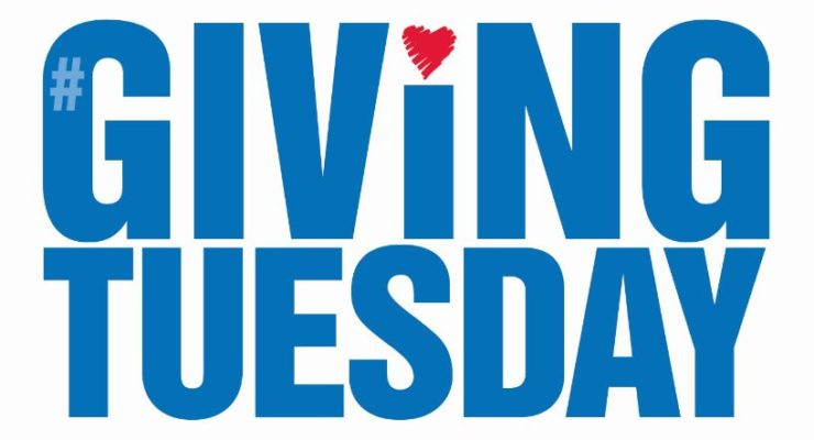 December 3rd is Giving Tuesday