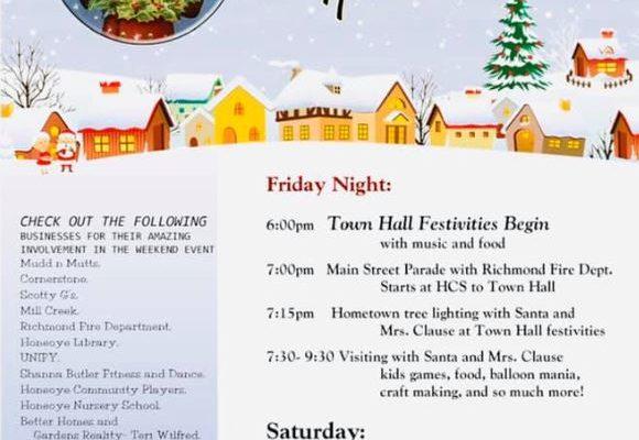 Honeoye Holiday Hometown Event