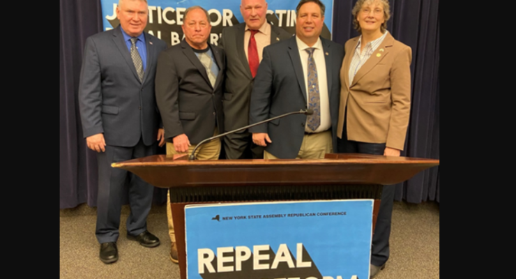 Upstate Political Leaders Unite To Repeal Bail Reform