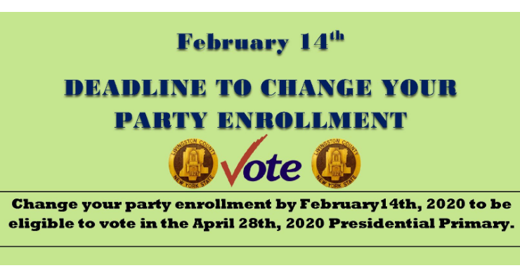 Are You Enrolled To Vote In The Presidential Primary This Year?