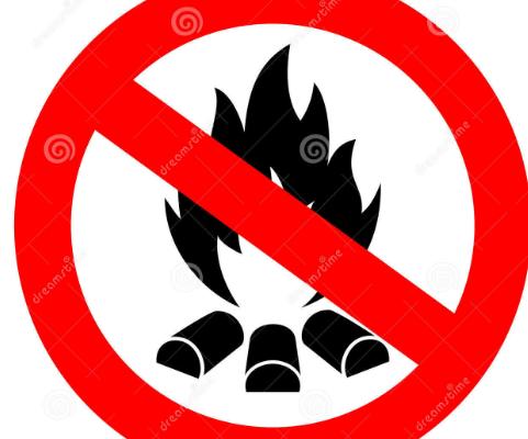 DEC BURNING BAN ON  UNTIL MAY 14.