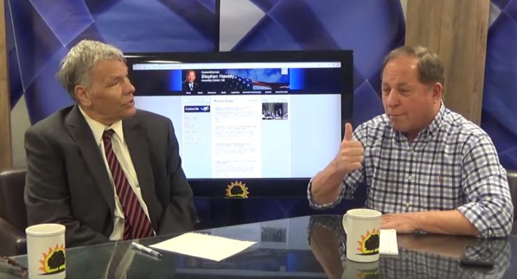 Assemblyman Steven Hawley Interviewed on YouTube:  Part II