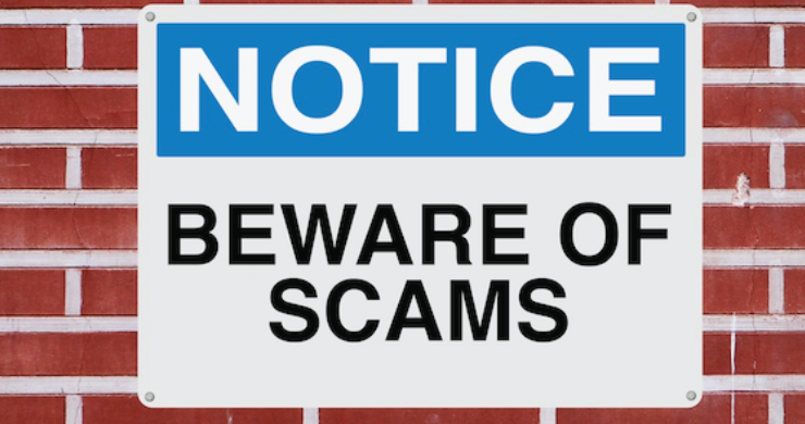Beware of Scammers Related to Our Crisis;  Sadly They Are Already Here