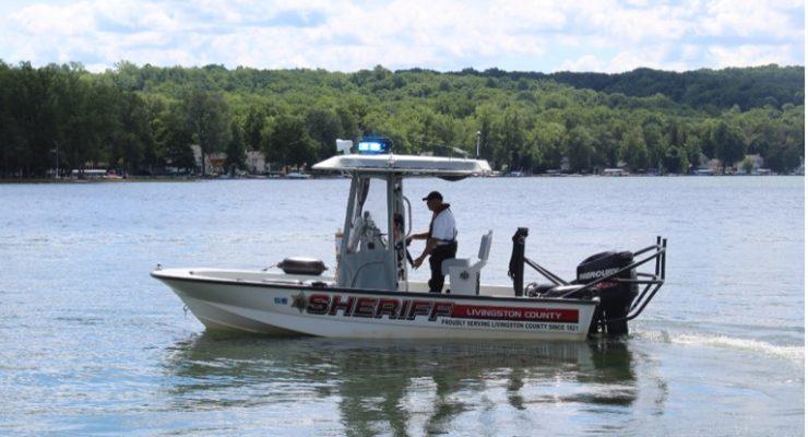 Marine Patrol Unit Ensures Conesus Lake Safety