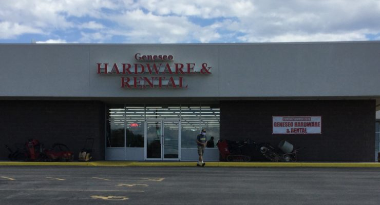 GENESEO HARDWARE & RENTAL  OPENS NEW LOCATION