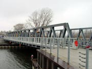 IRONDEQUOIT BAY OUTLET BRIDGE OPENS