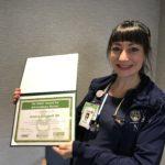 Nurse Jessica Longwell From Noyes Receives Daisy Award