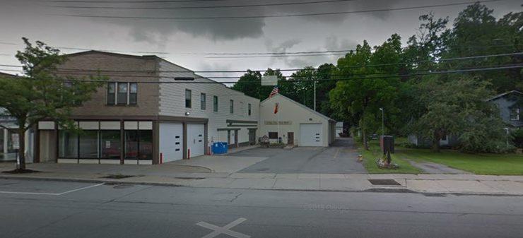 FIRE ON CLAY ST., LIMA , DESTROYS HOUSE