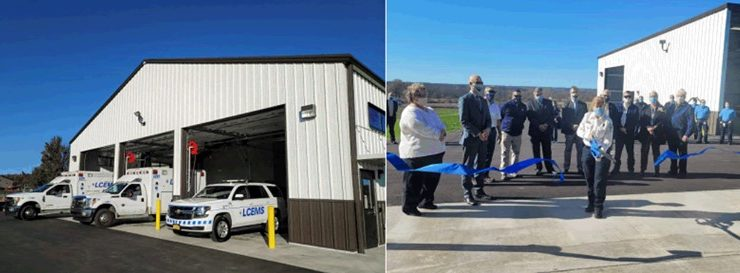 Livingston County Emergency Medical Services Facility Officially Opens