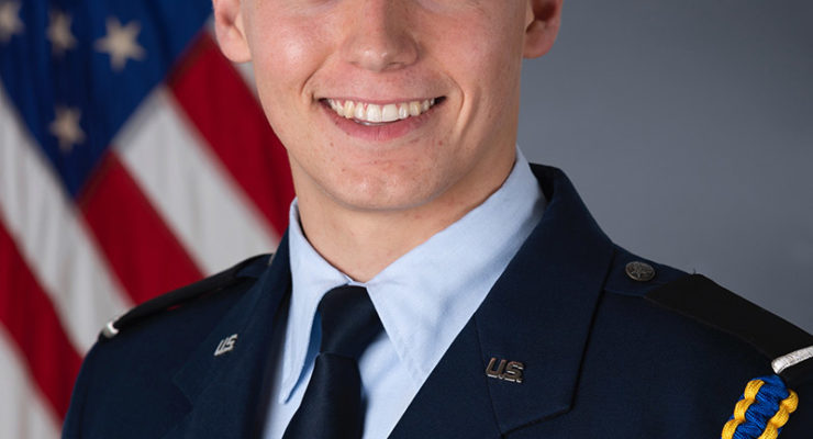 Lima's Keegan Evans Named to Prestigious Euro-NATO Joint Jet Pilot Training Program