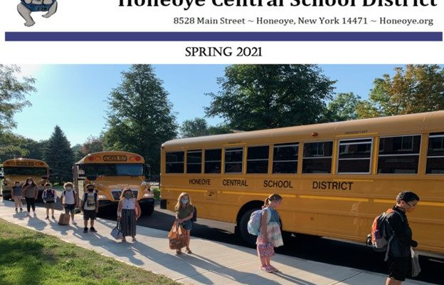 HONEOYE CENTRAL: SIX CANDIDATES S FOR Three SCHOOL BOARD SEATS, BUDGET VOTE MAY 18.