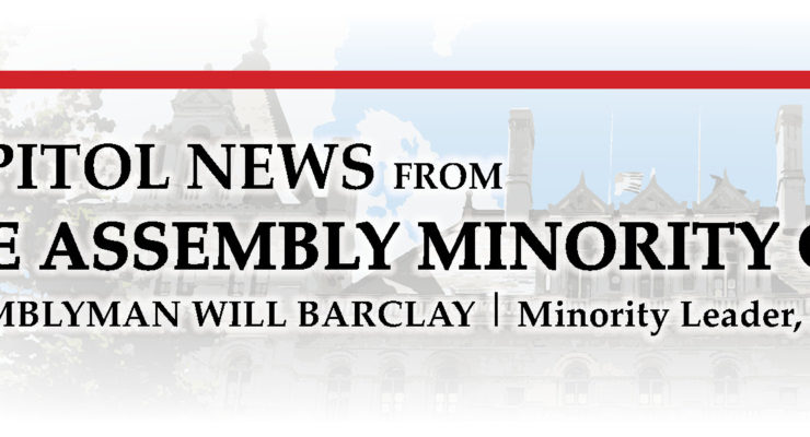 ASSEMBLY MINORITY LEADER BARCLAY COMMENTS REGARDING GOVERNOR'S IMPEACHMENT INVESTIGATION