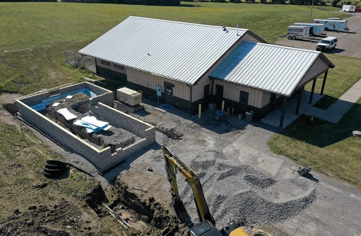 Construction Underway to Expand, Improve Livingston County Dog Control