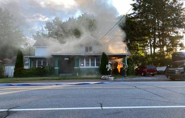 LAKEVILLE JULY 4 FIRE  CAUSES CARPORT DAMAGE