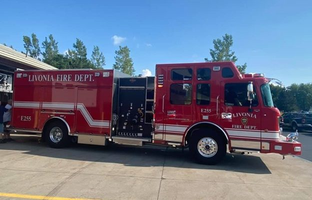 Livonia Fire Department Shows Off New Truck