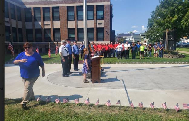 Nunda Community Honors 9/11