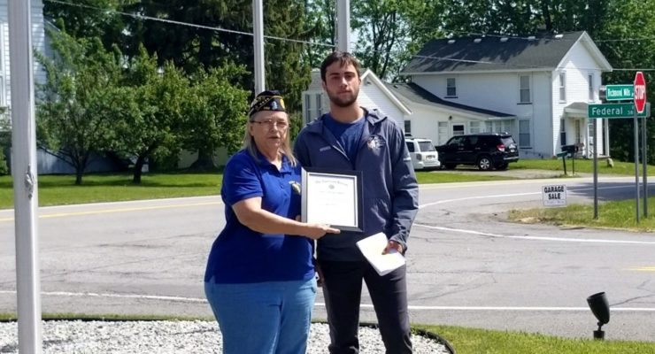 Students From Livonia, Lakeville, Conesus & Geneseo Win Legion Essay Contest by C. Nelson