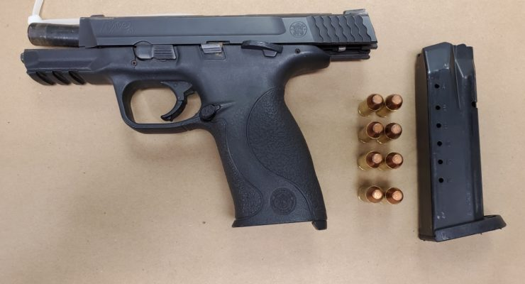 State Police Arrest Two -15 Year Olds for Weapons Charges After a Vehicle Pursuit.
