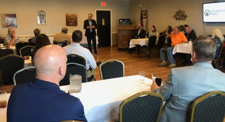 Congressman Zeldin Kicks off Latest Campaign Swing in Monroe, Livingston, Ontario and Orleans Counties