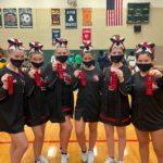 Dansville Varsity Cheerleaders Earn Second Place